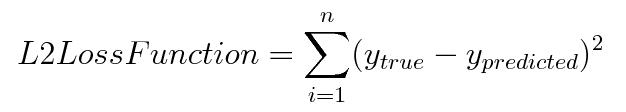 L2 loss function | insideAIML