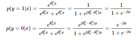 For Softmax when K = 2