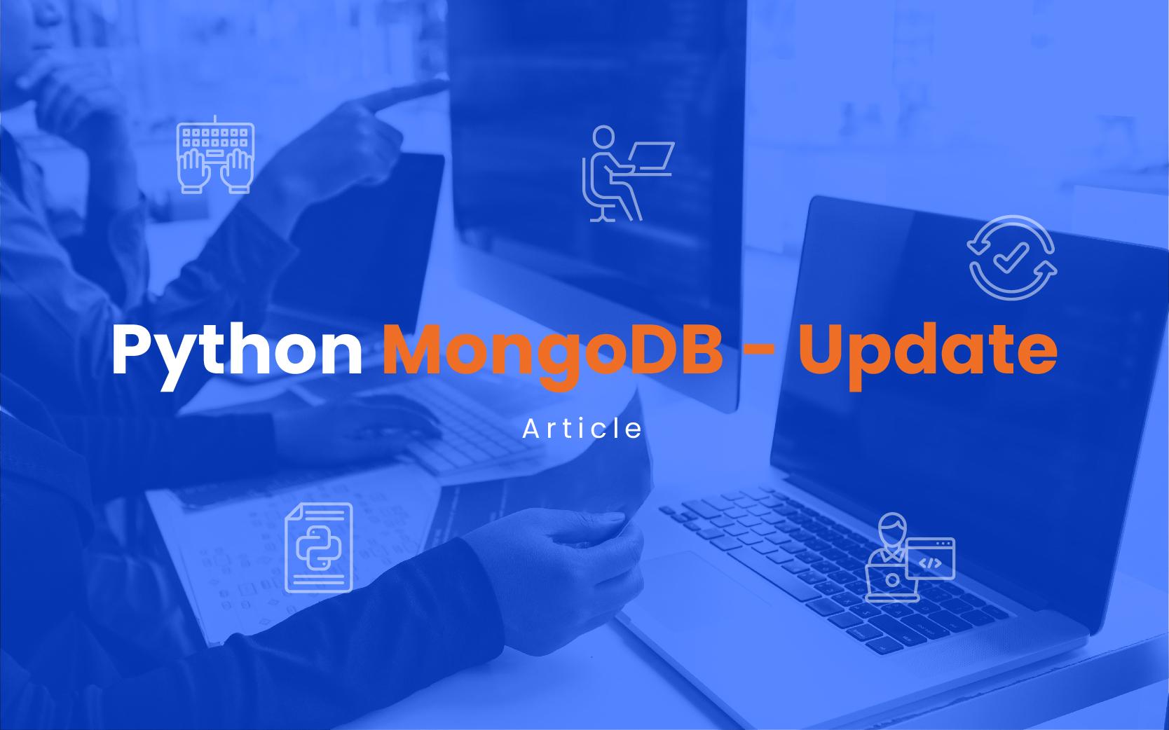 Python MongoDB- Update    Insideaiml