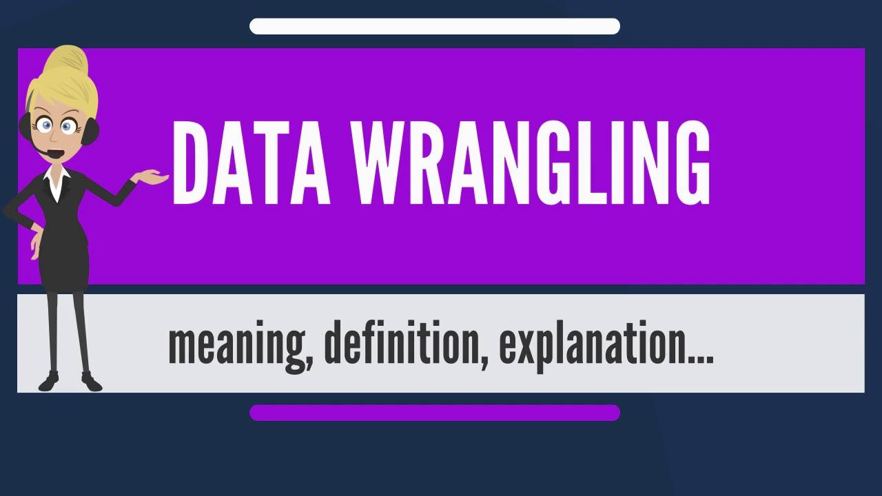 Python - Data Wrangling | Insideaiml