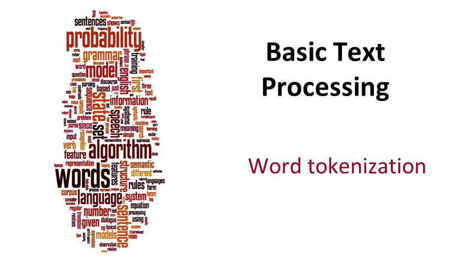 word tokenization | Insideaiml