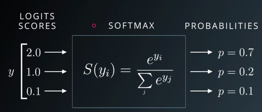 normalized exponential function.