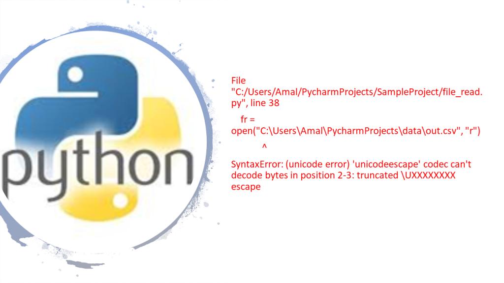 Solve File Encoding Error In Python