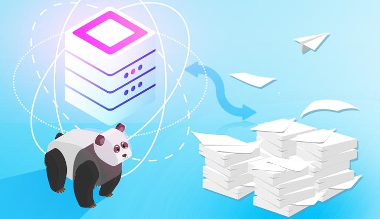 Reindexing in Python Pandas
